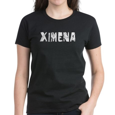 Ximena Faded (Silver) Women's Dark T-Shirt