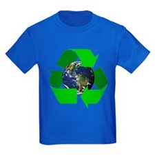 Recycle Earth Environment Symbol (Front) T