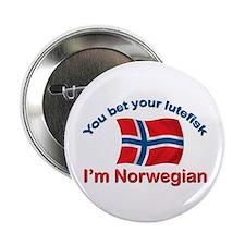 """Norwegian Lutefisk 2.25"""" Button (10 pack)"""