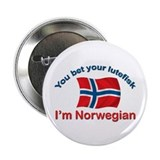 Norwegian Lutefisk 2.25&amp;quot; Button