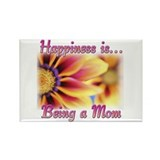Mothers Day Happiness Rectangle Magnet