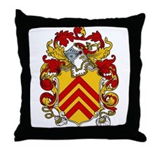 Clare Family Crest Throw Pillow