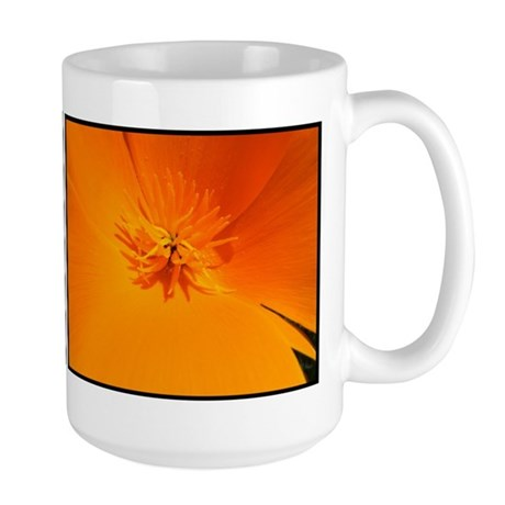 California Poppy Large Mug