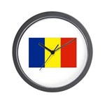 Armenia Flag Wall Clock