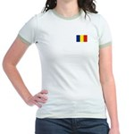 Armenia Flag Jr. Ringer T-Shirt