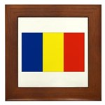 Armenia Flag Framed Tile
