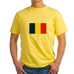 Armenia Flag Yellow T-Shirt