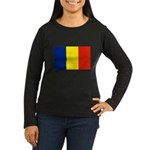 Armenia Flag Women's Long Sleeve Dark T-Shirt