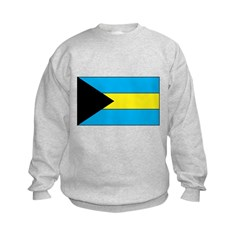 Bahamanian Flag Kids Sweatshirt