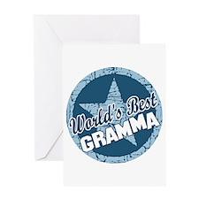 Worlds Best Gramma Greeting Card