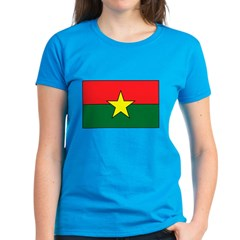 Burkina Faso Women's Dark T-Shirt