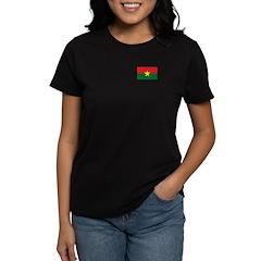 Burkina Faso Women's Dark T-Shirt