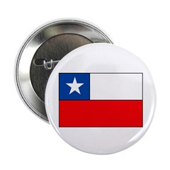 """Chilean Flag 2.25"""" Button (10 pack)"""