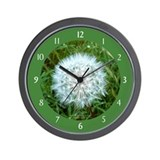 Dandelion Seed Head Wall Clock