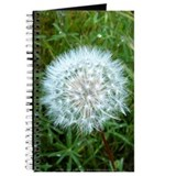 Dandelion Seed Head Journal