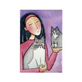 CAT MOM No.10...Magnet-no text (10 pack)