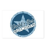Worlds Best Granddad Postcards (Package of 8)
