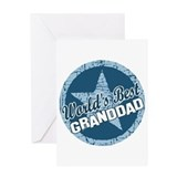 Worlds Best Granddad Greeting Card