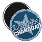 Worlds Best Granddad Magnet
