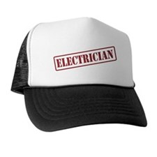 ELECTRICIAN STAMP Trucker Hat