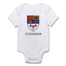 Canada Coat of Arms Infant Bodysuit