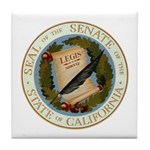 California Senate Tile Coaster
