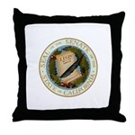 California Senate Throw Pillow