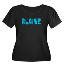 Blaine Faded (Blue) T