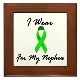 I Wear Lime Green For My Nephew 1 Framed Tile