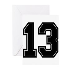 13 Greeting Cards (Pk of 10)