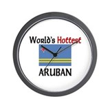 World's Hottest Aruban Wall Clock