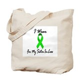 I Wear Lime Green For My Sister-In-Law 1 Tote Bag