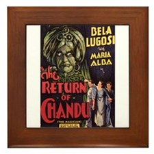 The Return of Chandu Framed Tile