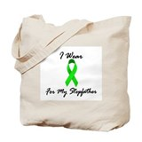 I Wear Lime Green For My Stepfather 1 Tote Bag