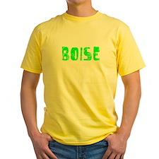 Boise Faded (Green) T
