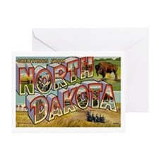 NORTH DAKOTA ND Greeting Card