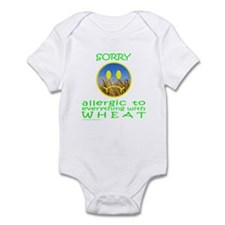 ALLERGIC TO WHEAT Infant Bodysuit