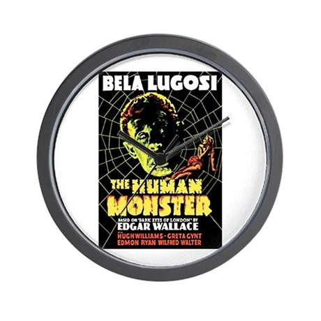 The Human Monster Wall Clock