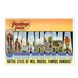 OKLAHOMA OK Postcards (Package of 8)