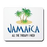Jamaican Therapy - Mousepad
