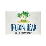 Hilton Head Therapy - Rectangle Magnet