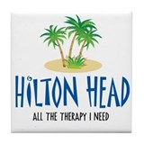 Hilton Head Therapy - Tile Coaster