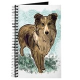 Shetland Sheepdog portrait Journal