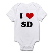 I Love SD Onesie