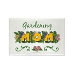 Gardening Mom Gardener Rectangle Magnet