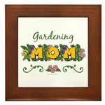 Gardening Mom Gardener Framed Tile