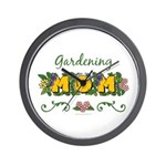 Gardening Mom Gardener Wall Clock