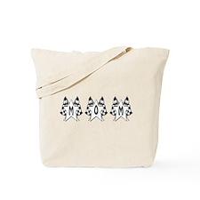 Checkered Flag Mom Design Tote Bag
