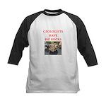 geology gifts t-shirts Kids Baseball Jersey