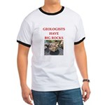 geology gifts t-shirts Ringer T